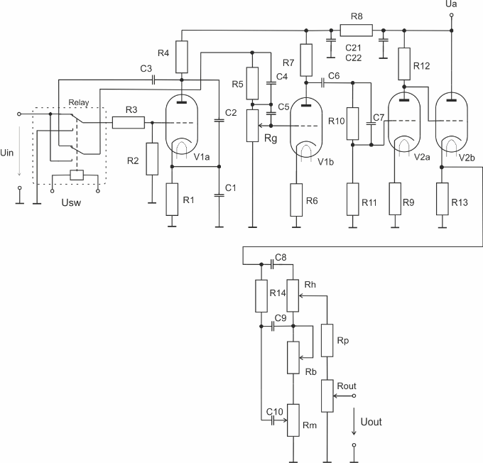 volt audio power amplifier circuit schematic electronics