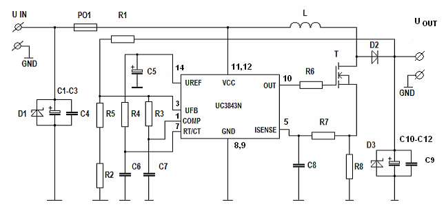 d a converter circuit diagram