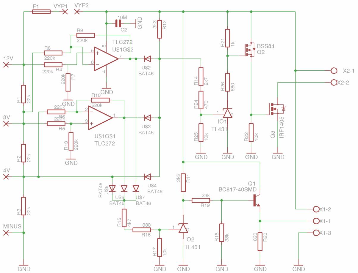 14 volt battery wiring diagram