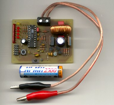 NiMH NiCd Battery Fast PWM Charger Circuit Atmel AVR - Electronics