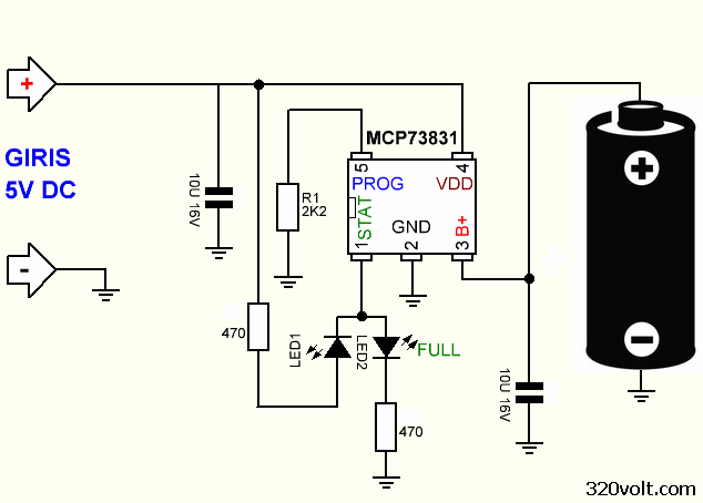 battery power save diagram