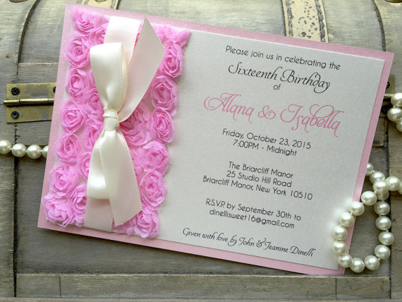 Fancy Quinceanera Invitations you Won\u0027t Believe are Cheap - Quinceanera