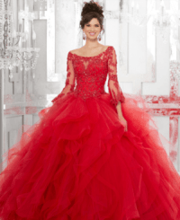 15 Stylish Quinceanera Dresses with Sleeves - Quinceanera