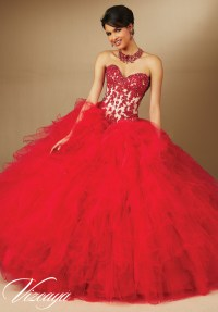 Red Quinceanera Dresses That'll Take Your Breath Away ...