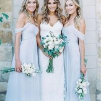 Light Blue Chiffon A Line Bridesmaid Dresses,New Style ...