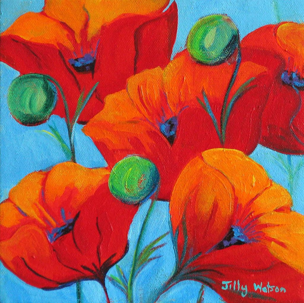 Bright Colours Painting Jilly Watson 32books