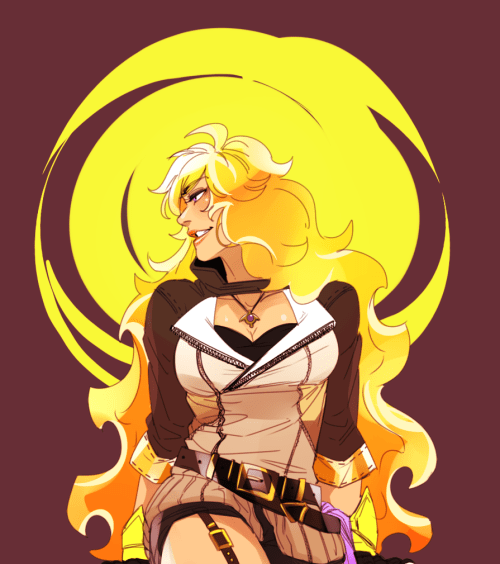 The Yellow Wallpaper Important Quotes My Dumb Art Xuuart Rwby Breathes Heavily Yang Xiao Long