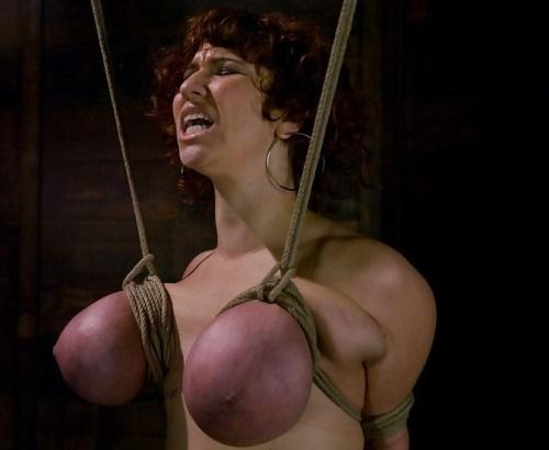 purple tied tits wife
