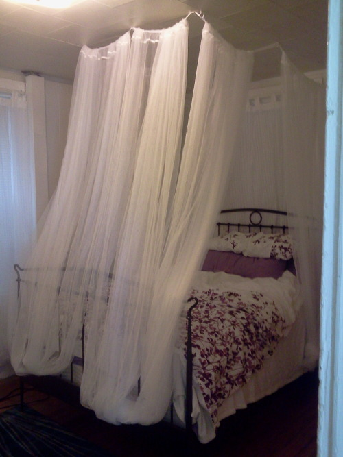 Bed canopy on tumblr