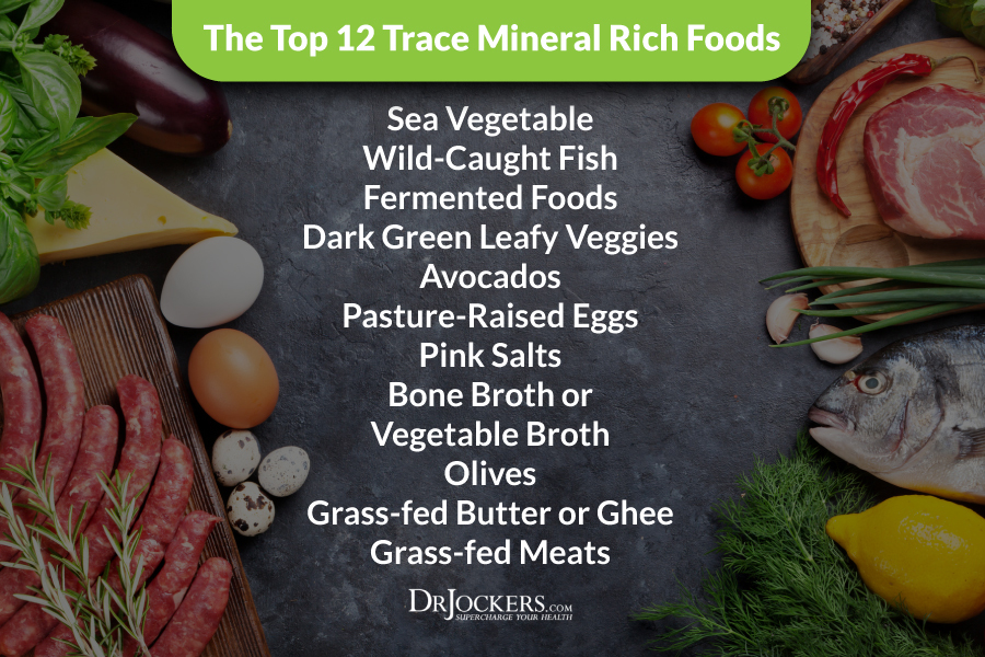 Top 12 Trace Mineral Rich Foods - DrJockers