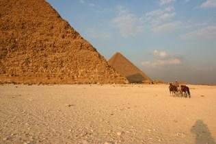Pyramide de Gizeh Le Caire