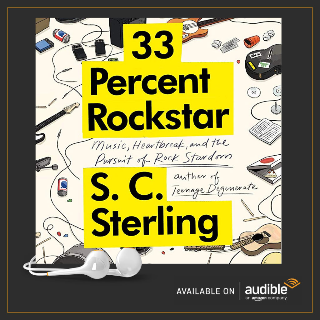 Amazon Audible Music Audiobook For 33 Percent Rockstar Now Available On Audible
