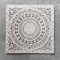 Buy Moroccan Decent Wood Carving Wall Art Hanging Online