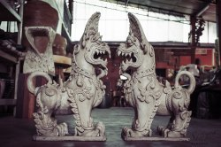 Small Of Foo Dog Statue