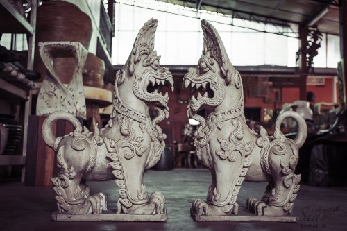 Medium Of Foo Dog Statue