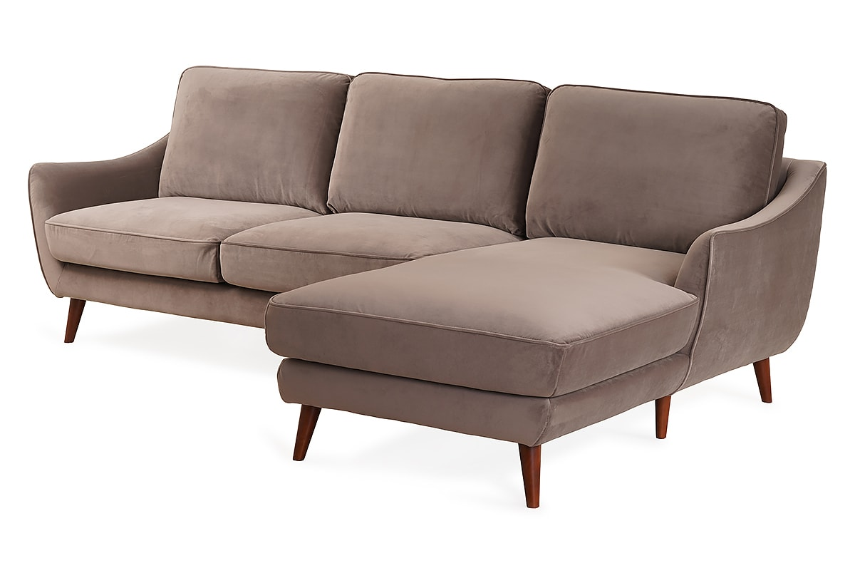 Olivia 2 Seater With Chaise Right Hand Facing Sofa Michael Murphy Home Furnishing