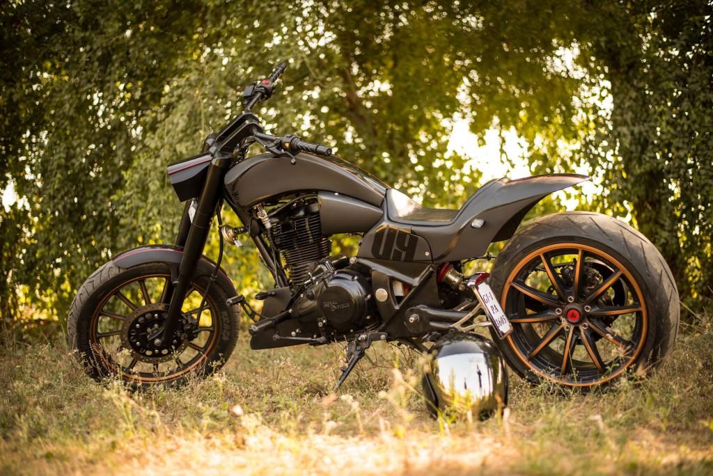 Bullet 350 Hd Wallpaper Raven Custom Motorcycles Archives 350cc Com