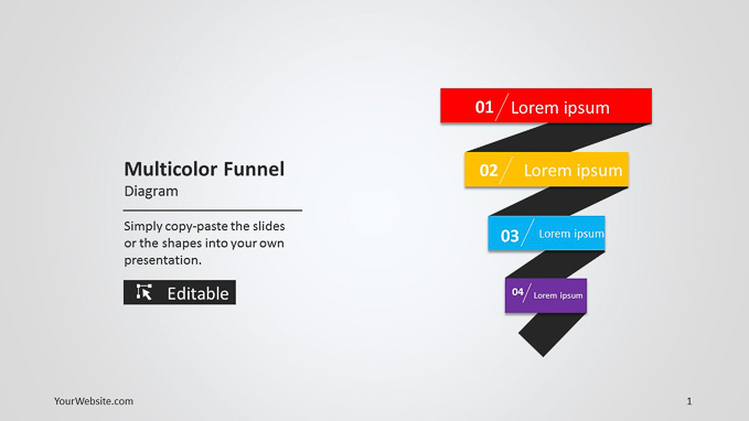 Free Powerpoint Funnel Template \u2013 quantumgaming