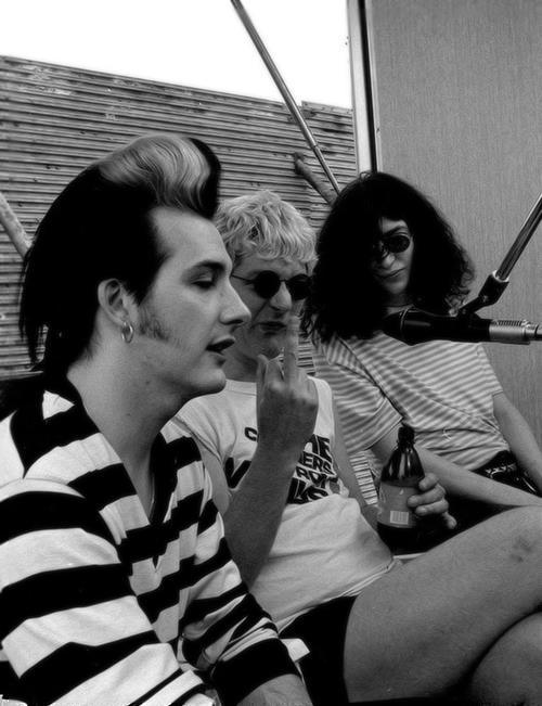 Dave Vanian, Captain Sensible, The Bird, Joey Ramone Style Icons - baby born küche