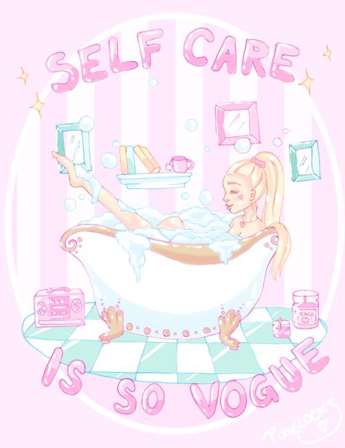 Pastel Goth Wallpaper Girl Pastel Artists On Tumblr Self Care Cute Art Kawaii Art