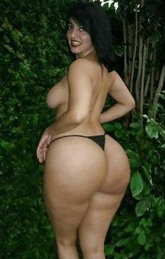big booty white girl butt
