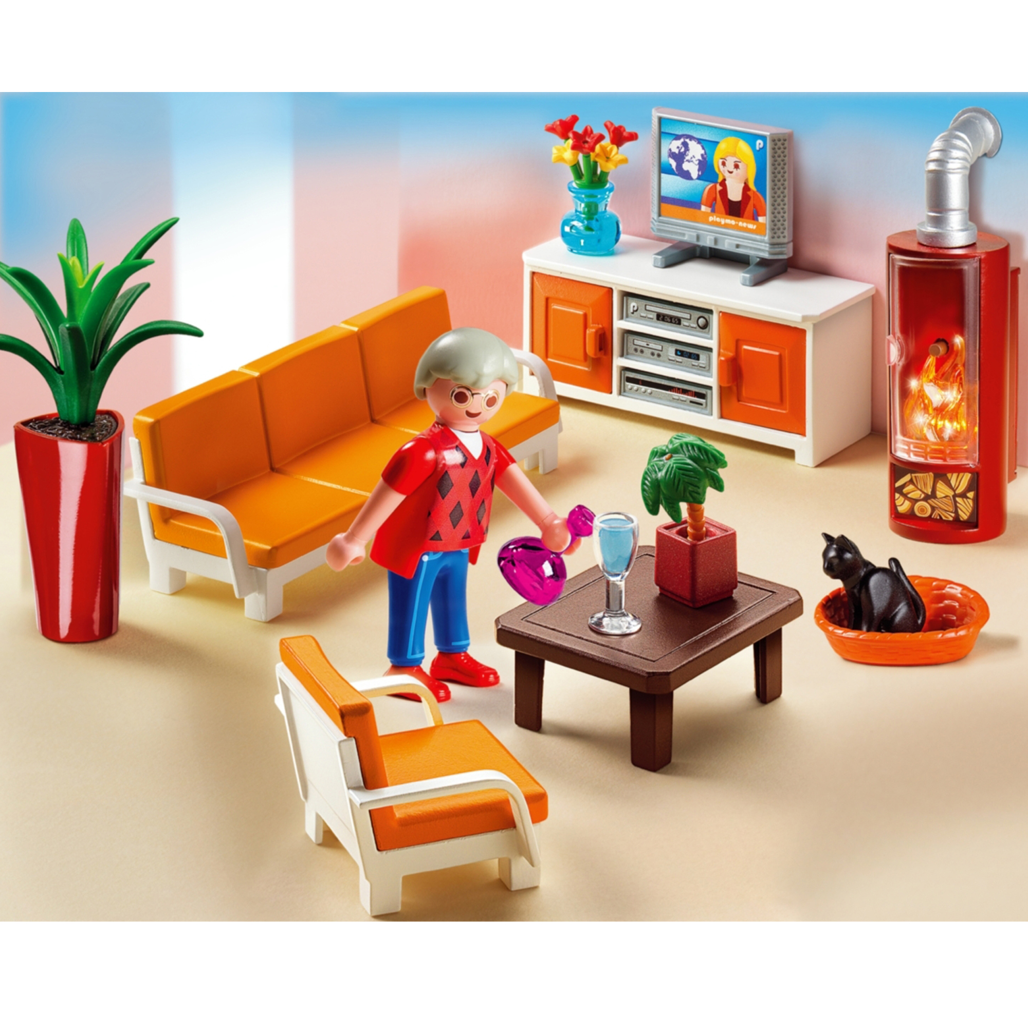 Playmobil City Life Küche Playmobil Grande Mansion Living Room 5332