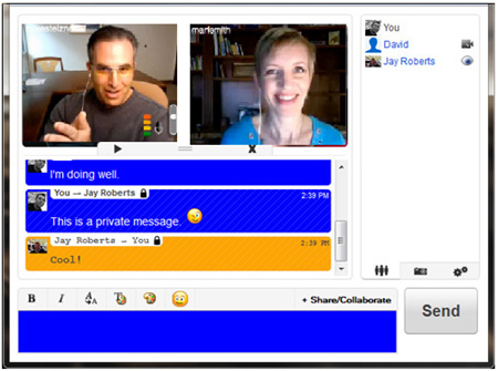 360 AXS Your Online Marketing Solution - live video chat room