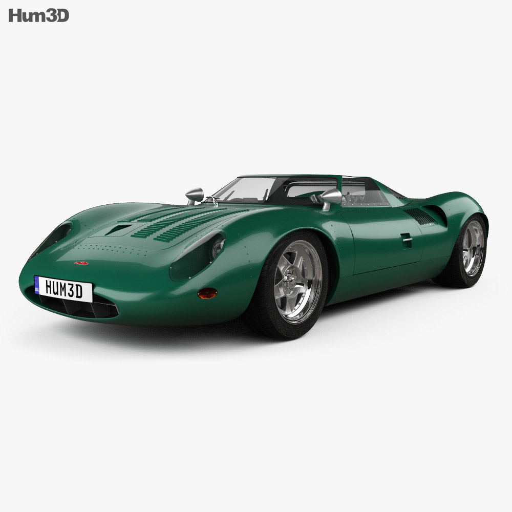 Jaguar Xj13 Blueprint Jaguar Xj13 1966 3d Model
