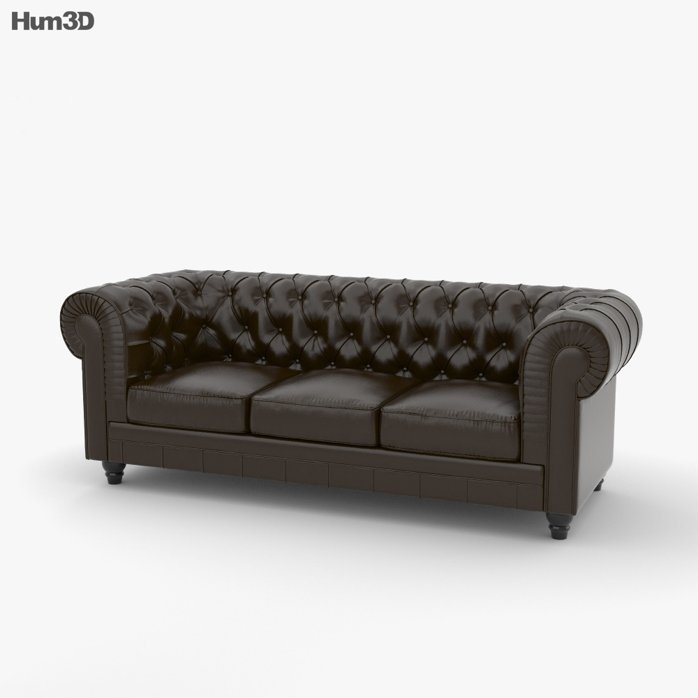 Chesterfield Sofa Chesterfield Sofa 3d Model