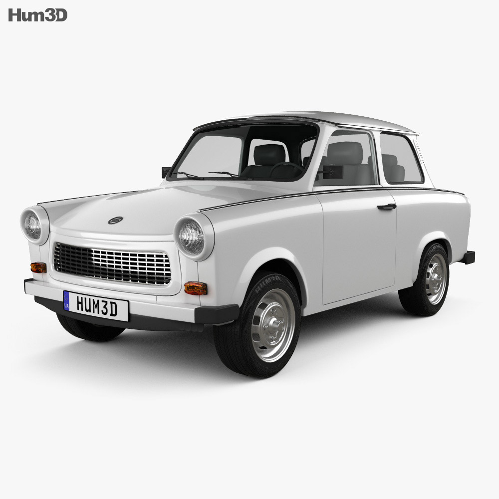 Trabant Clipart Trabant 601 Sedan 1963 3d Model