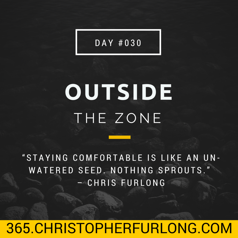 Day #030: Outside The Zone