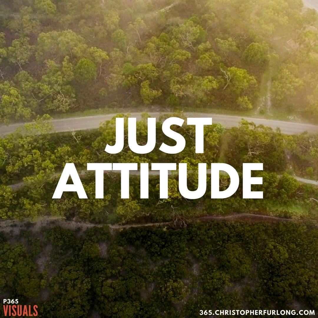 P365 2018: Day #110: Just Attitude