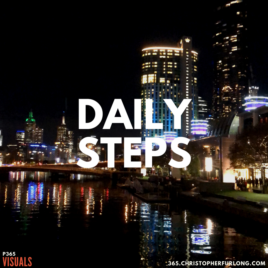 P365 2018: Day #143: Daily Steps