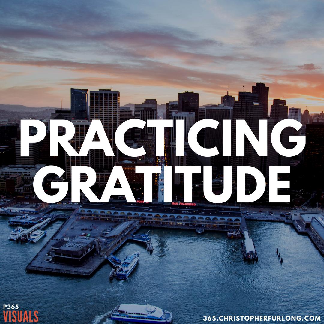 P365 2018: Day #167: Practicing Gratitude