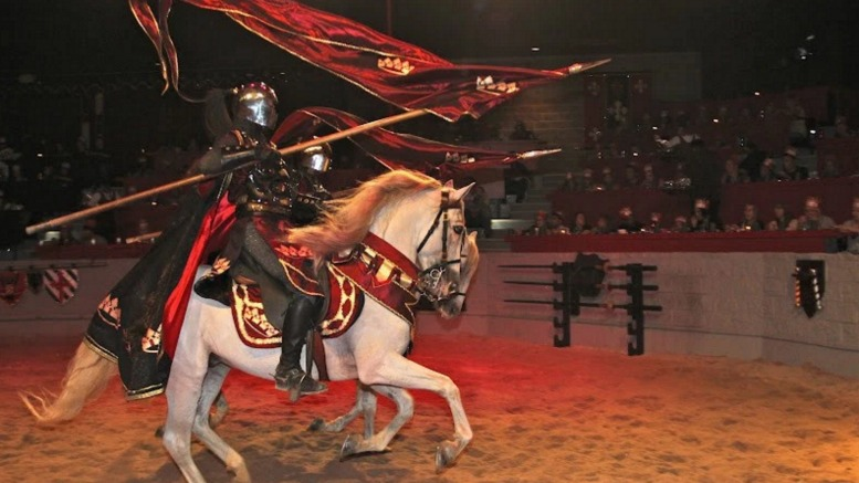 Medieval Times Atlanta has lots of excitement from beginning to end.