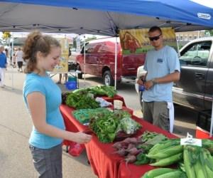 Fresh Produce at the Barrington Farmers Market