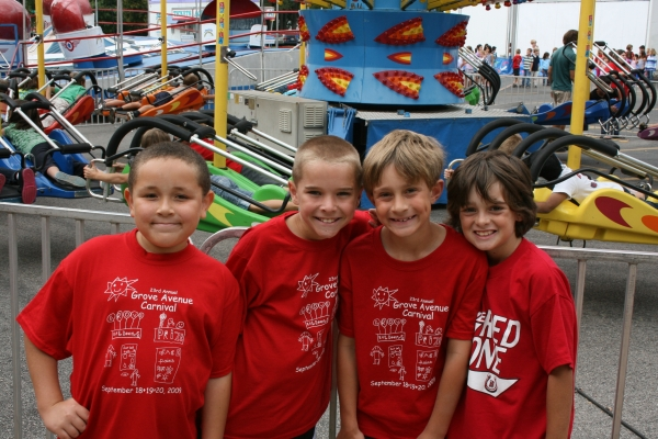 Fun Times at Grove Avenue Carnival in Barrington, Illinois