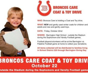 204.  Broncos Care Coat and Toy Drive