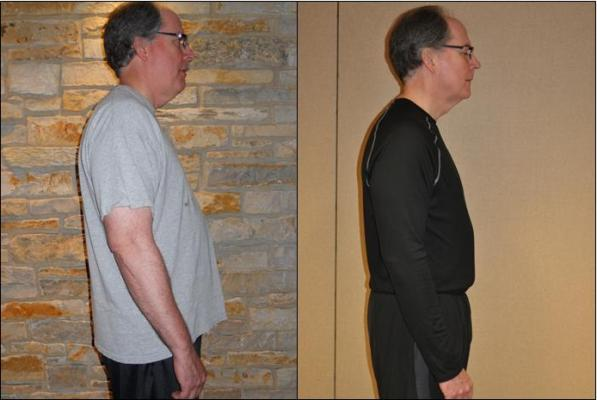 Weight Loss Success Story at Good Shepherd Health and Fitness in Barrington, Illinois