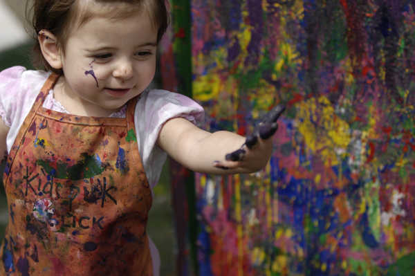 Children's Activities at the Barrington Art Festival