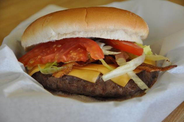 Kooker's Bacon Cheeseburger