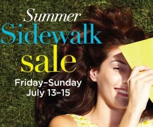 199. Summer Sidewalk Sale at Deer Park Town Center