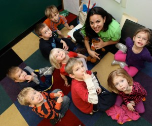 Language Classes at Learning Stars in Barrington, Photographed by Julie Linnekin