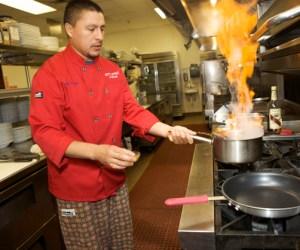 L'Eiffel Bistrot Head Chef Pepe Castillo - Photographed by Julie Linnekin