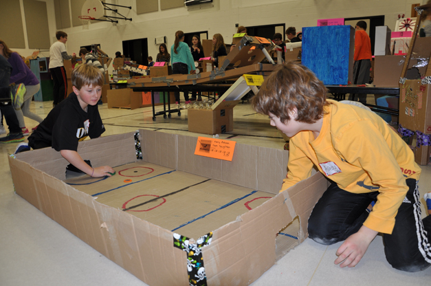 Cardboard Arcade Challenge