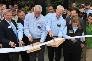Heinen's Co-Owners and Twin Brothers, Tom and Jeff Heinen, Cut the Ribbon to Officially Open Heinen's New Glenview Store for Business - Photographed by Julie Linnekin