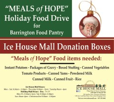 Help those in Need - Donate to the Meals of Hope Food Drive @ Ice House Mall & Village Shops