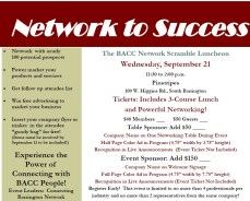 Network to Success Scramble Luncheon @ Pinstripes South Barrington |  |  |