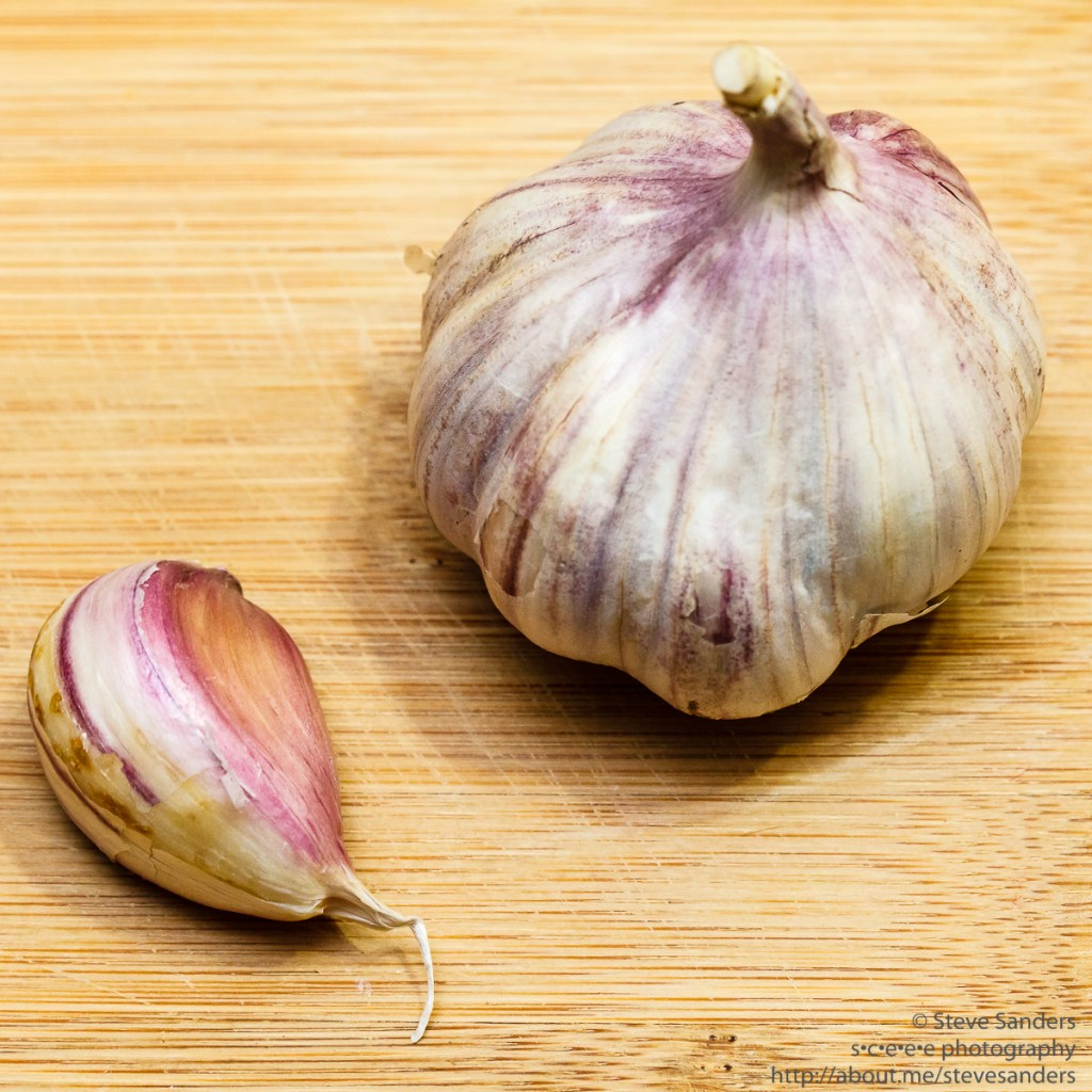 Purple Glazer Garlic