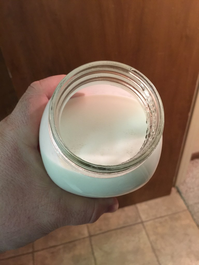 Coconut Milk/Heavy Cream Yogurt